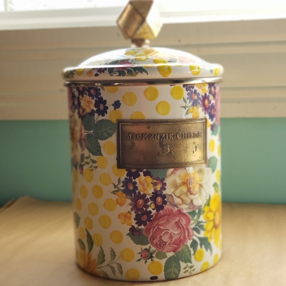 MacKenzie-Childs Other - Mackenzie-Childs buttercup cannister